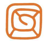 Simbolo del labirinto con l'uscita al centro.