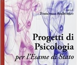 2018 Aprile 19 Progetto nell'esame di Stato per psicologi