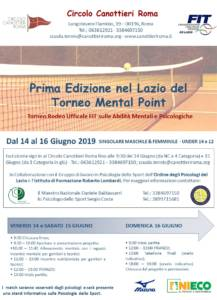 Locandina torneo mental point